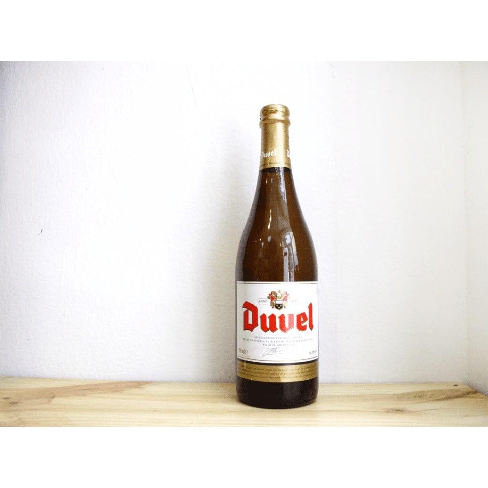 Botella de Cerveza belga Duvel Golden Ale 75 cl