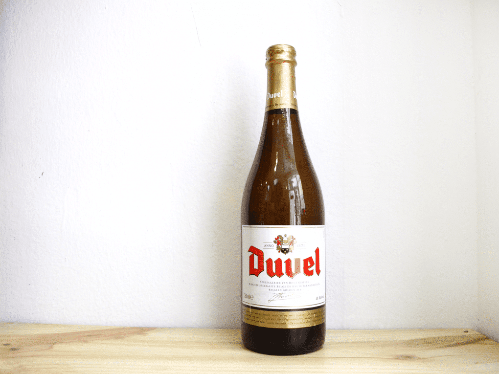 Botella de Cerveza belga Duvel Golden Ale 75 cl