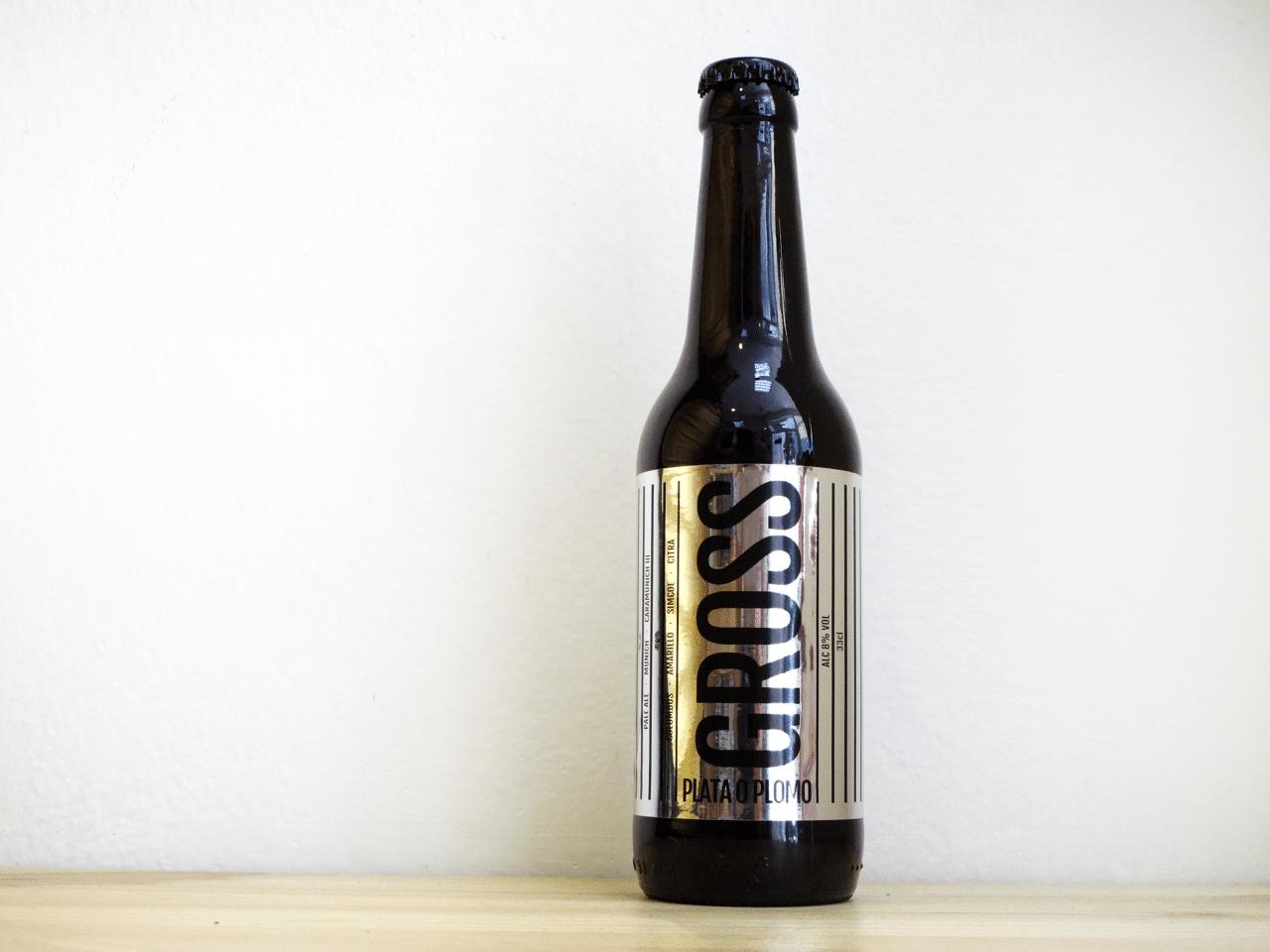 Cerveza Gross Plata o Plomo - Double IPA