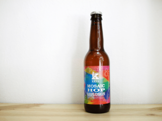 Botella de Cerveza holandesa Kees Mosaic Hop Explosion