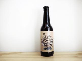 Botella de Cerveza cántabra La Grua Galerna