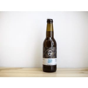Botella de Cerveza madrileña Mad Brewing Trigo Hoppy