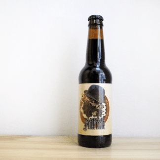 Botella de Cerveza navarra Naparbier Napar Porter