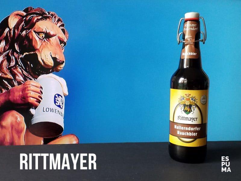 Botella de Cerveza Rittmayer Rauchbier