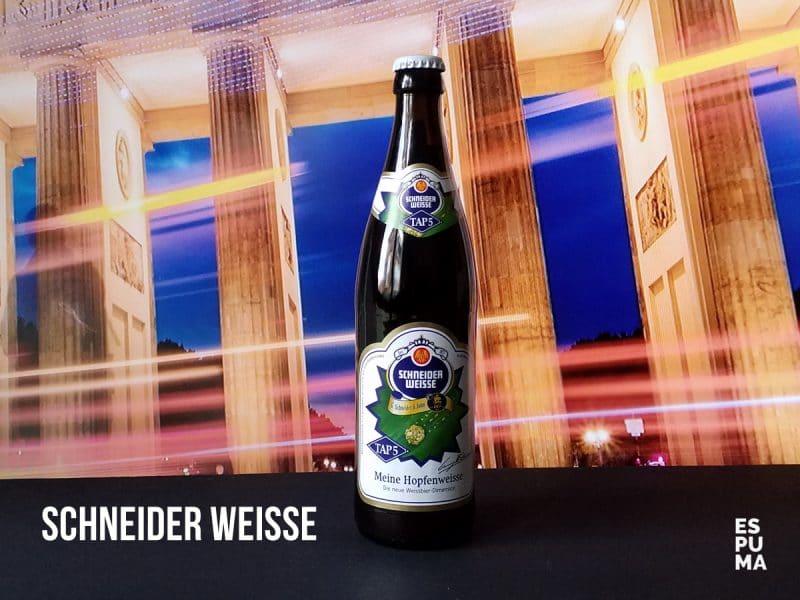 Botella de Cerveza Schneider TAP 5