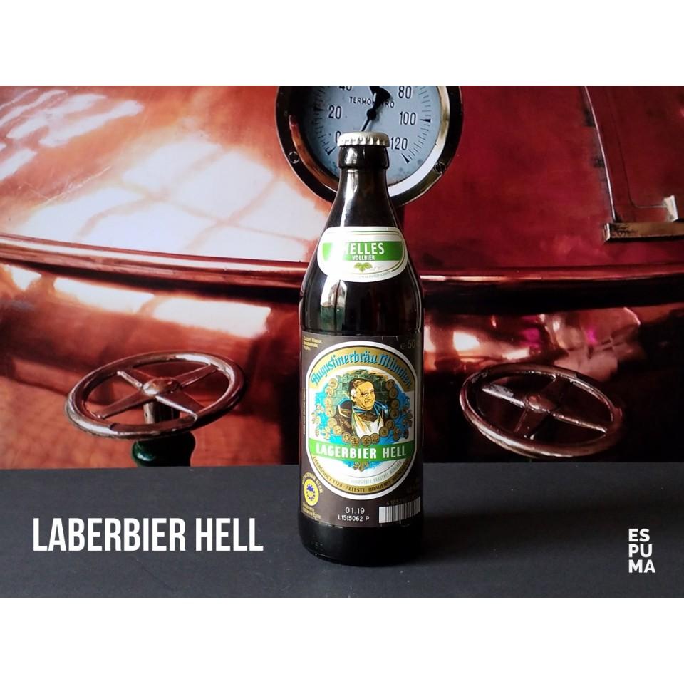 Botella de Cerveza Augustiner Helles