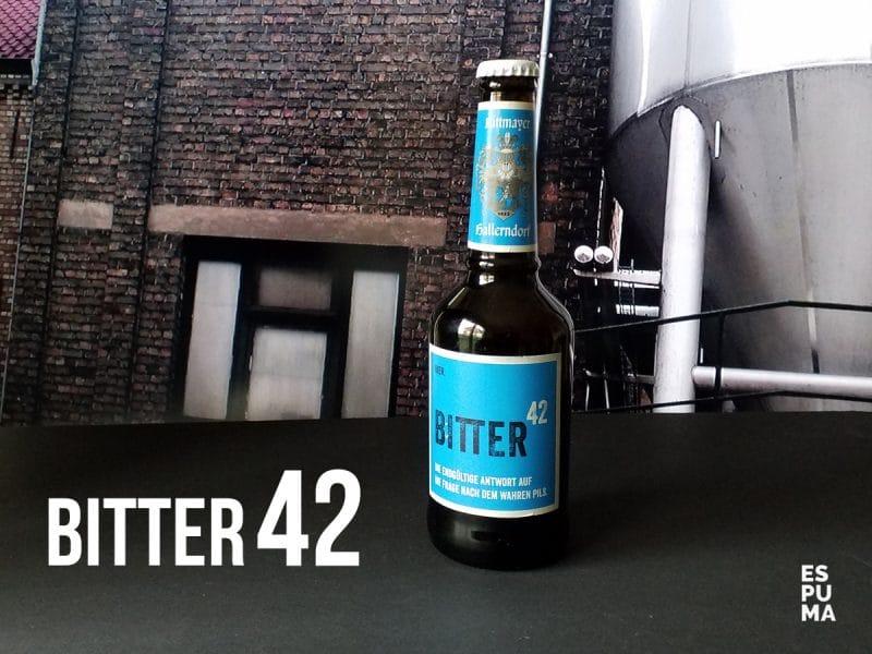 Botella de Cerveza Rittmayer Bitter 42