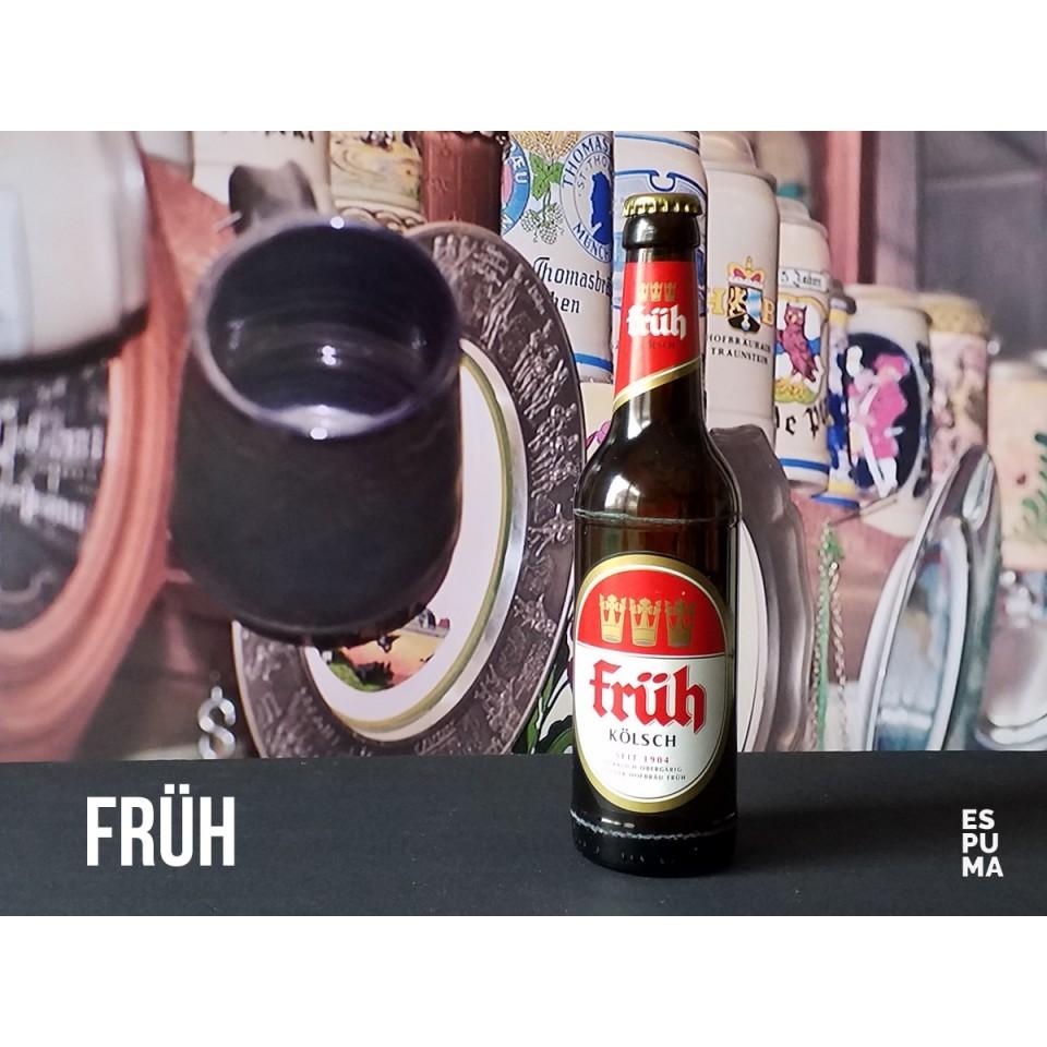 Botella de Cerveza Früh Kolsch