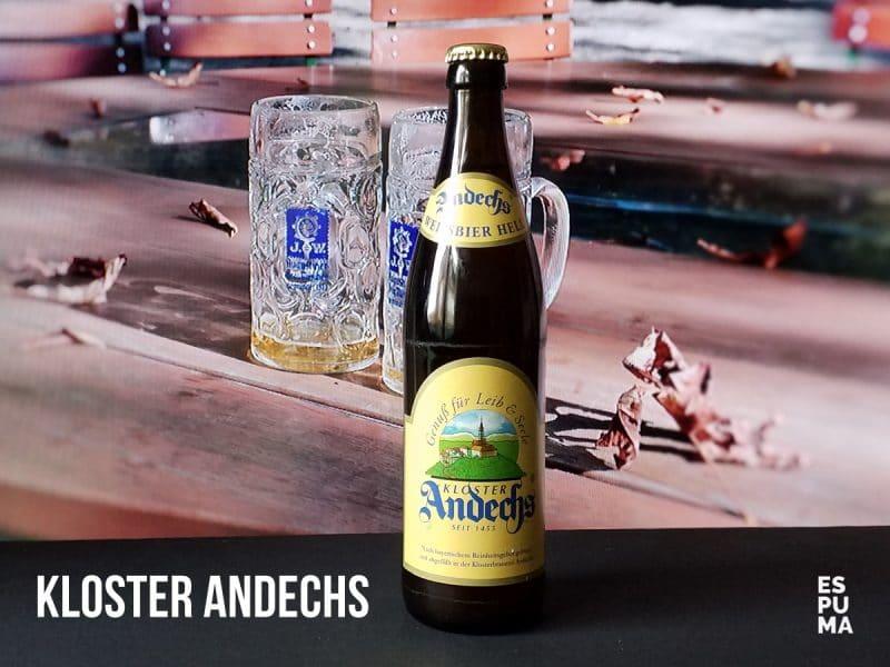 Botella Cerveza Andechs Weissbier