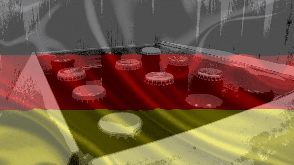 Pack de cervezas alemanas