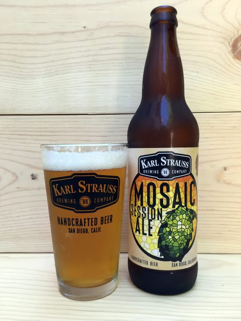 Cerveza Karl Strauss Mosaic Session Ale