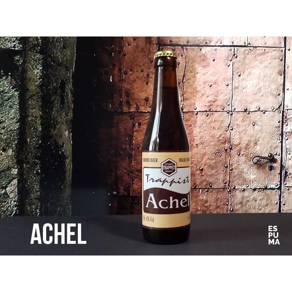 Botella de Cerveza trapense Achel Bruin