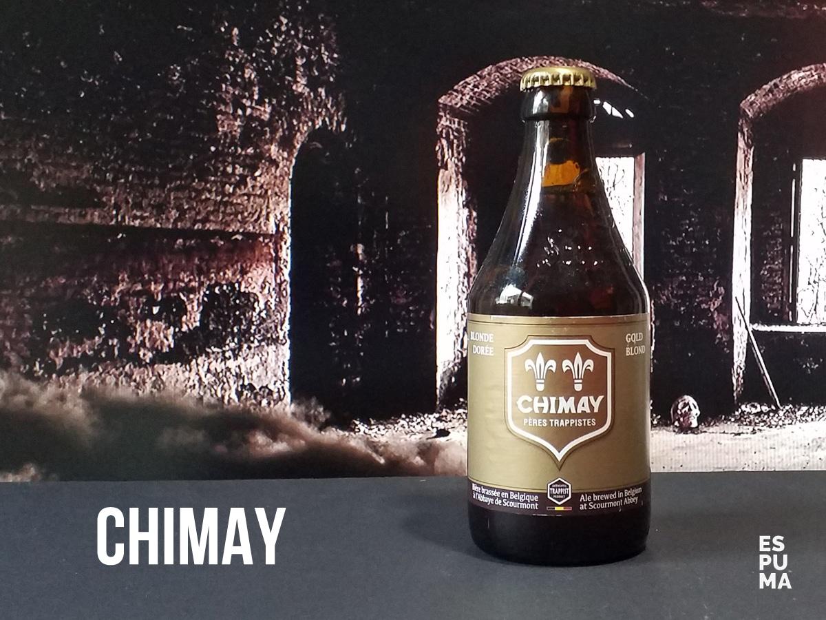 Botella de Cerveza Trapense Chimay Doree