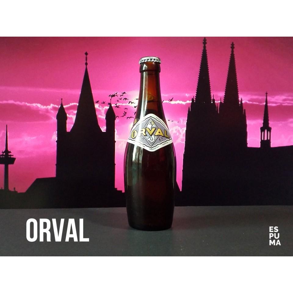 Botella de Cerveza trapense Orval
