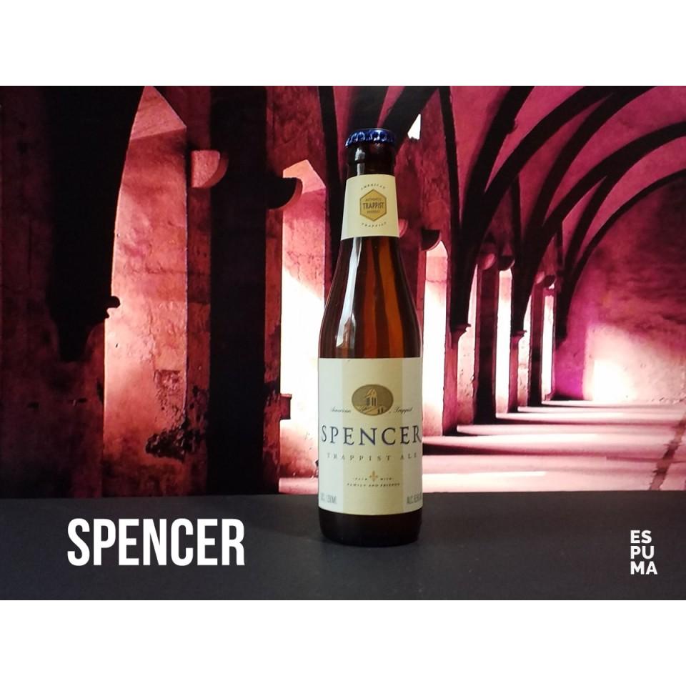 Botella de Cerveza trapense Spencer Ale Blonde