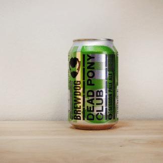 Lata de Cerveza escocesa BrewDog Dead Pony Club