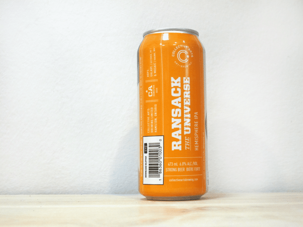 Cerveza Collective Arts Ransack the Universe - IPA