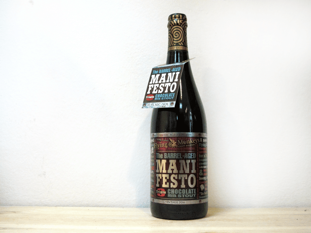 Cerveza Flying Monkeys Barrel Aged The Chocolate Manifesto (2016) - Milk Stout