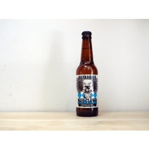 Botella de Cerveza navarra Naparbier Mad Clown