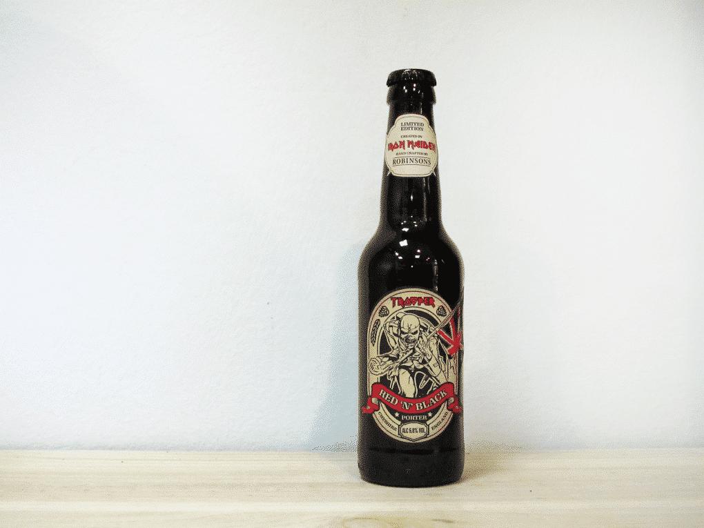 Cerveza Trooper Red 'n' Black - Porter