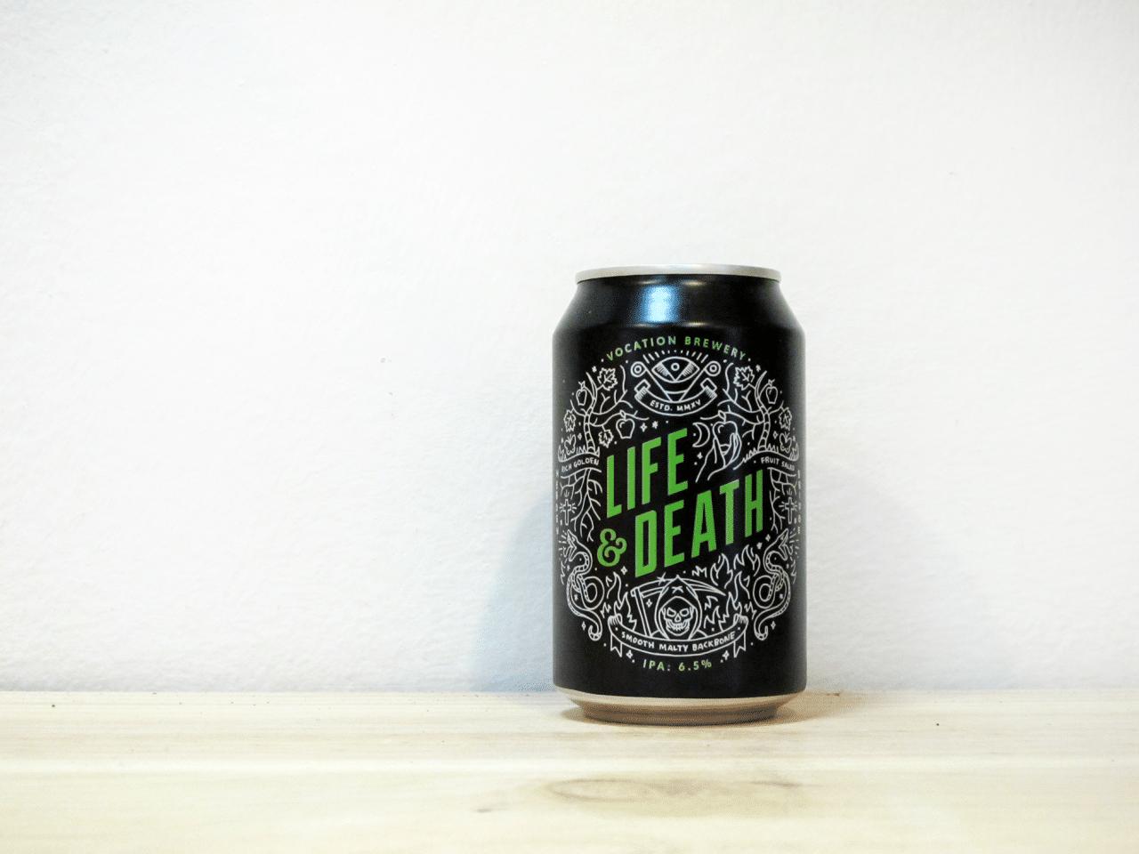 Cerveza Vocation Life & Death - American IPA