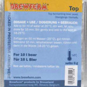 Sobre de levadura ale en polvo Top Brewferm 6 gramos