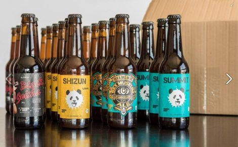 Pack de 8 cervezas de Panda Craft Beer
