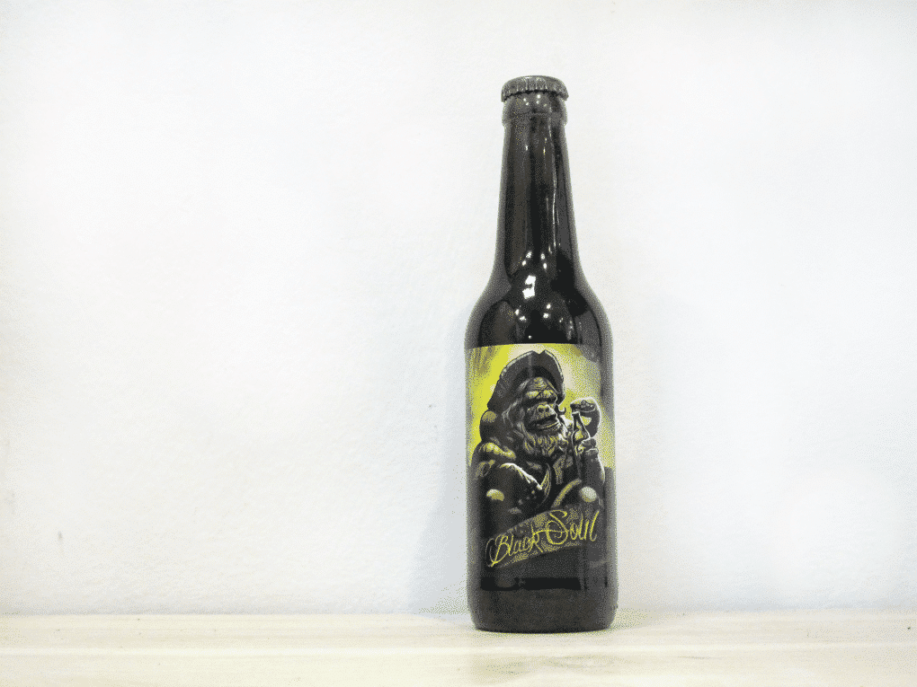 Cerveza 3Monos Black Soul - Oatmeal Stout