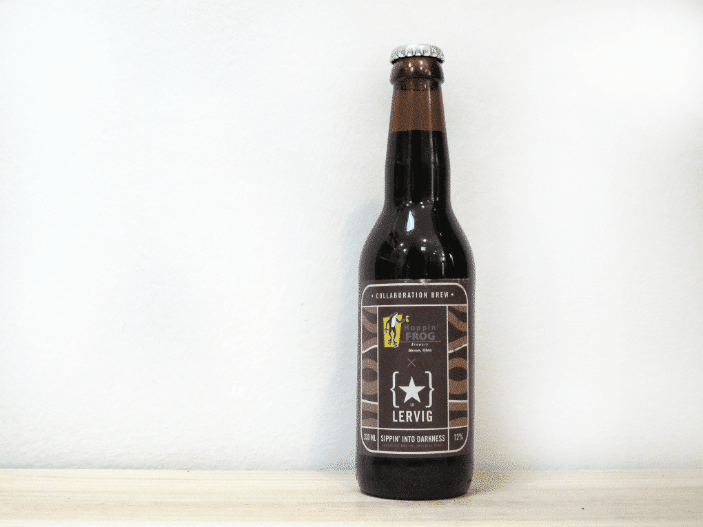 Cerveza Lervig / Hoppin' Frog Sippin' into Darkness