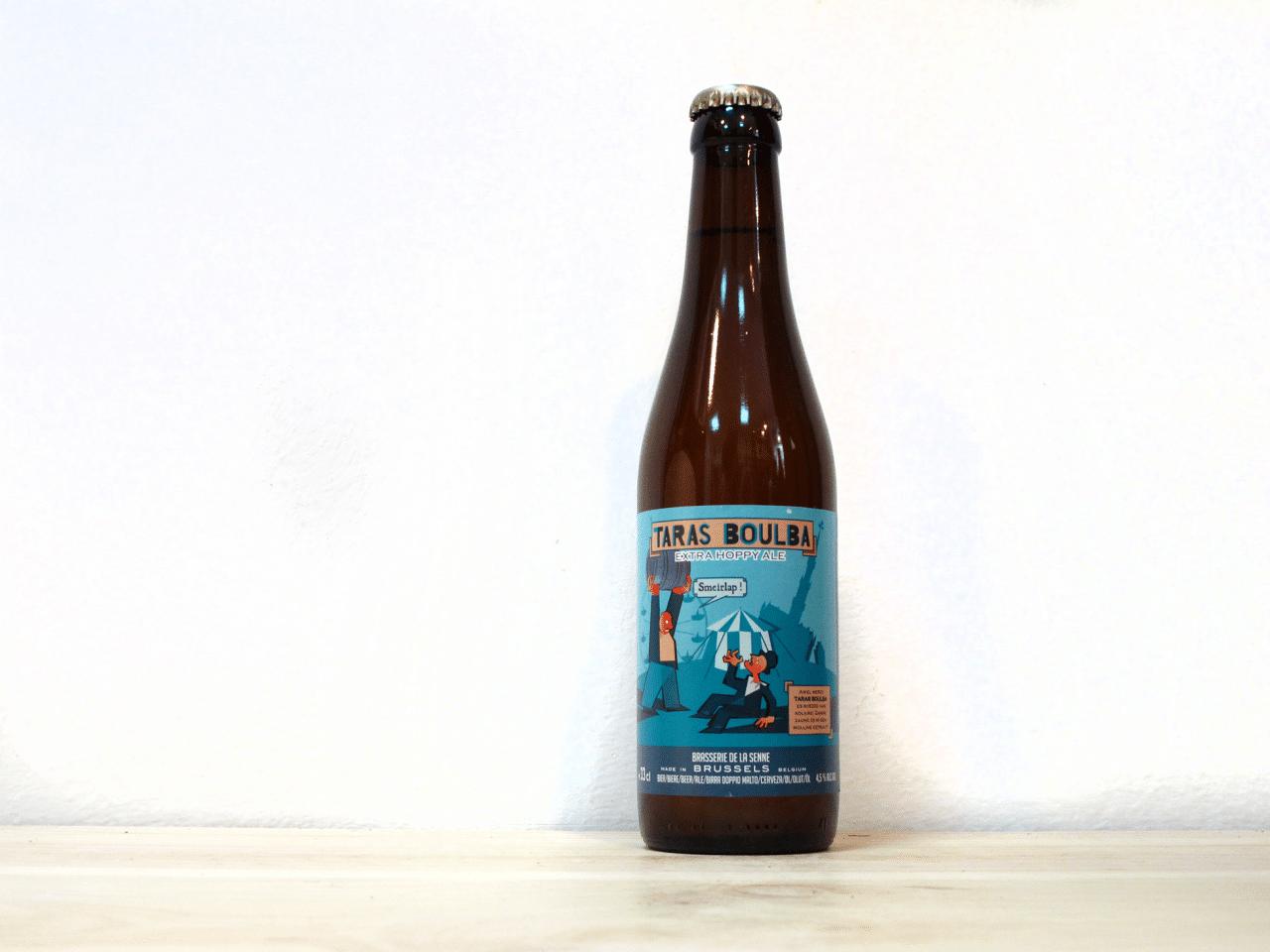 Botella de Cerveza belga Brasserie de la Senne Taras Boulba