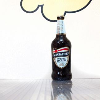 Botella de cerveza inglesa Youngs Bombardier