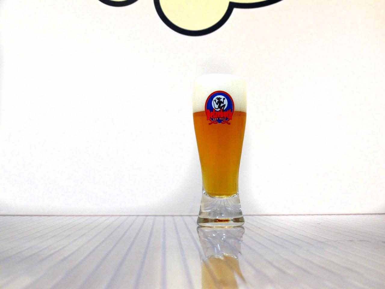 Vaso de cerveza Belzebuth