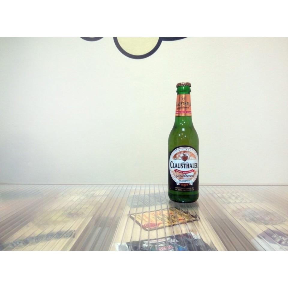 Cerveza Clausthaler Unfiltered - Sin alcohol