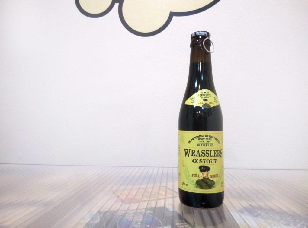 Cerveza Porterhouse Wrasslers XXXX Stout