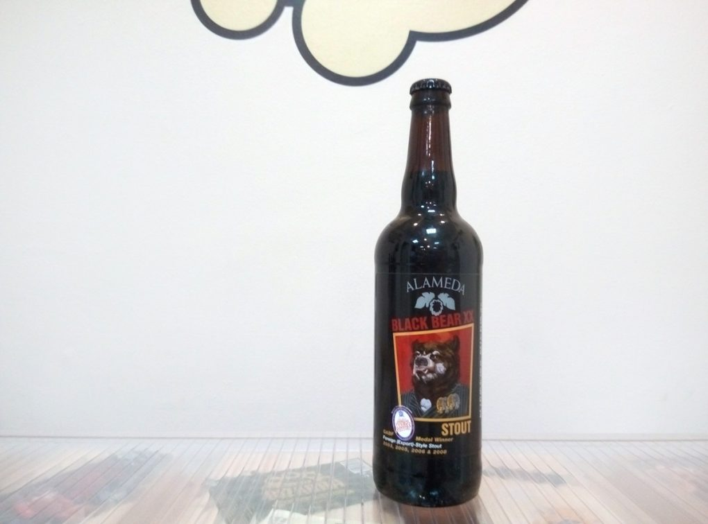Cerveza Alameda Black Bear XX - Foreign Stout