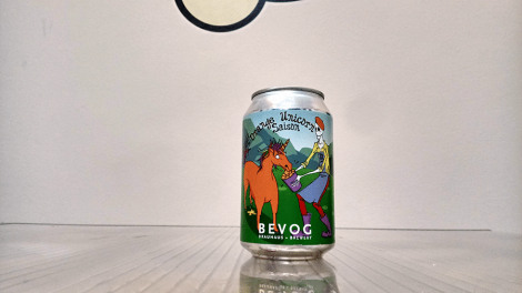 Bevog Who Cares Editions: Orange Unicorn