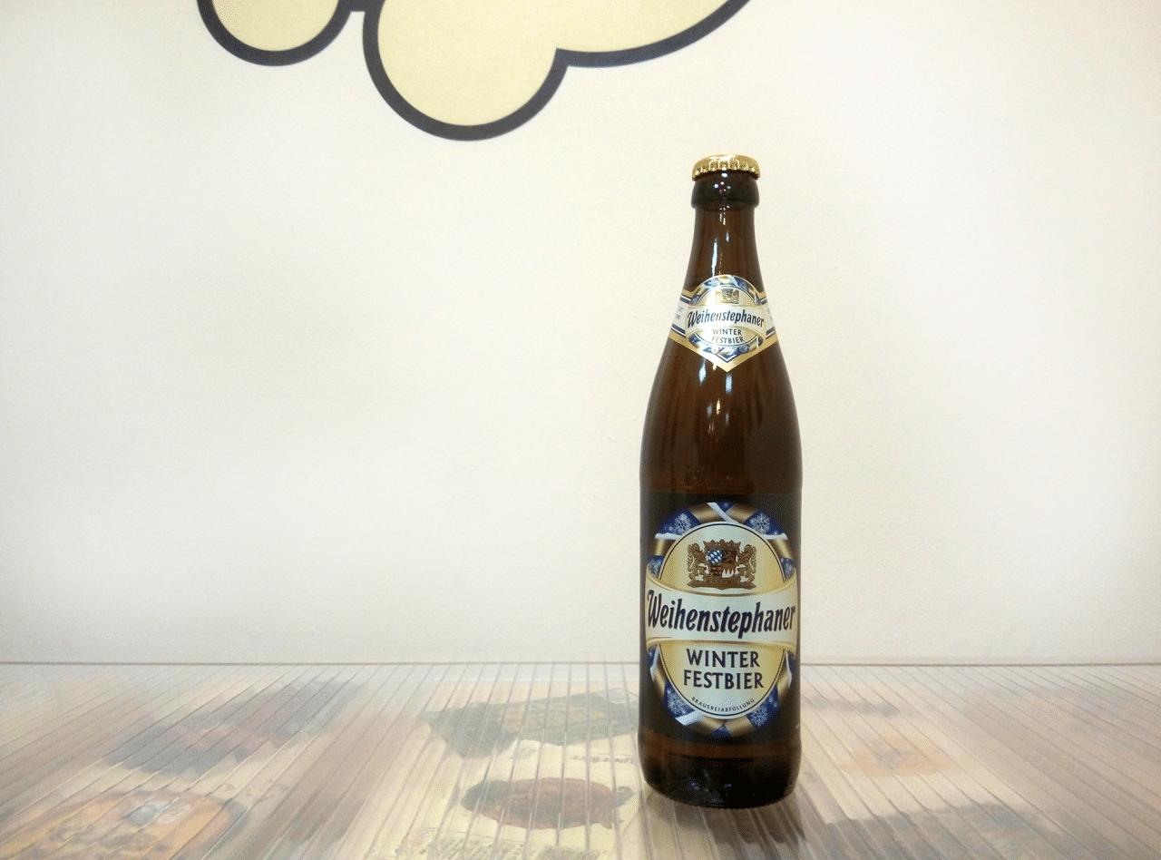 Cerveza Weihenstephaner Winterfestbier