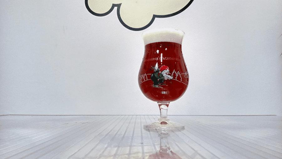 Copa de cerveza La Chouffe