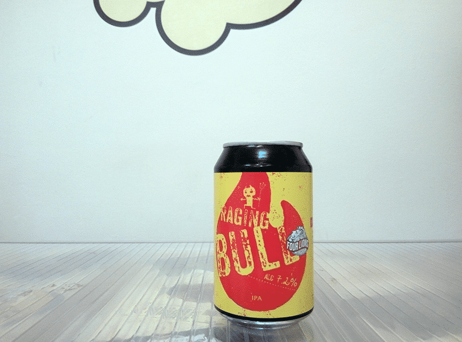 Cerveza Four Lions - Crafty Devil Raging Bull - Imperial IPA