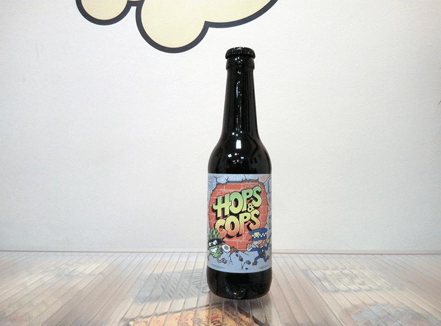 Cerveza La Grúa Hops & Cops