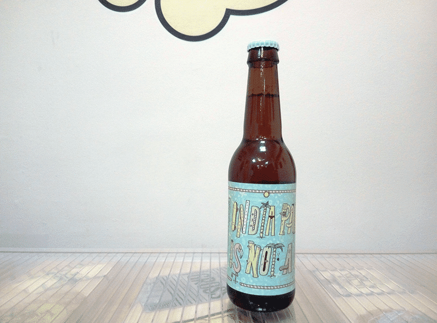 Cerveza Monsieur Gordo India Pale Ale Is Not A Crime