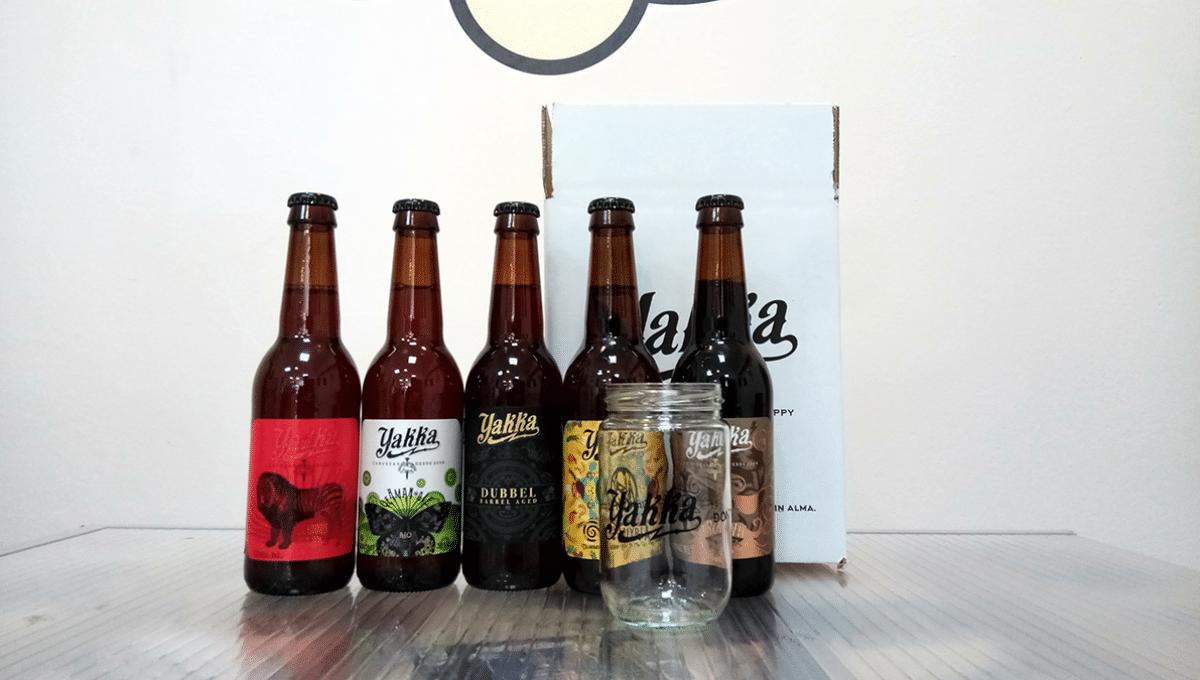 Pack de cervezas Yakka