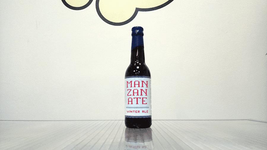 Cerveza Sesma Biribil Manzanate - Winter Ale