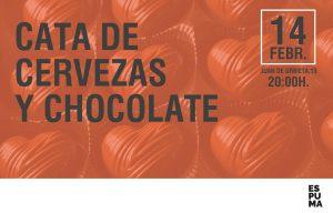 CATA de CERVEZA Y CHOCOLATE
