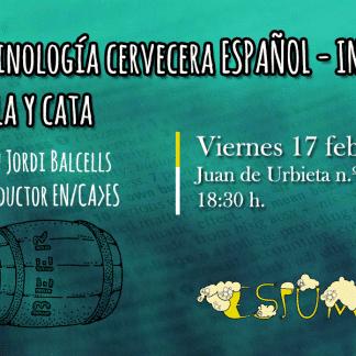 Charla terminología cerveza por Jordi Balcells