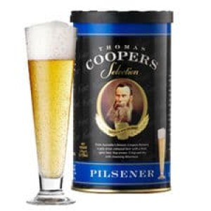 Extracto para elaborar cerveza artesana Coopers Pilsener