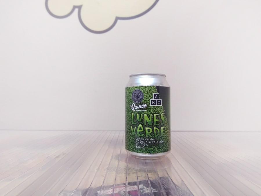 Cerveza La Quince Alphabet Brewing Lunes Verde