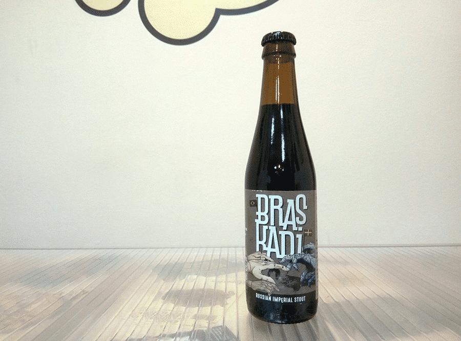 Cerveza Laugar - Perro Libre Braskadi - Russian Imperial Stout