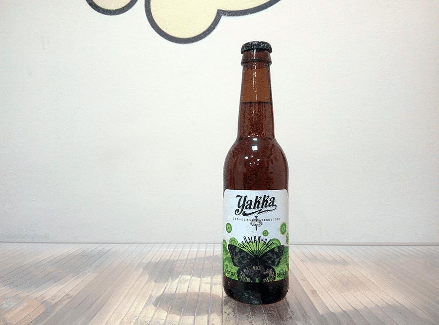 Cerveza ecológica Yakka German Ale Bio