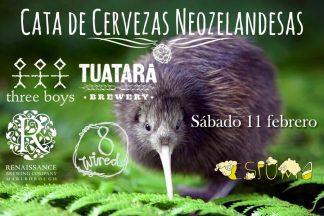 Cata de cervezas artesanas neozelandesas